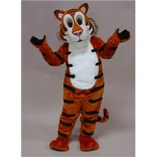 Mask U.S. Friendly Tiger Mascot Costume