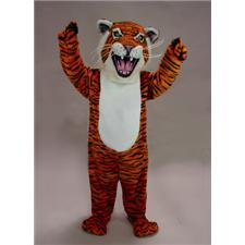 Mask U.S. Orange Tiger Mascot Costume