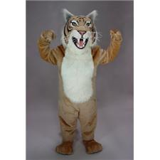 Mask U.S. Tan Wildcat Mascot Costume
