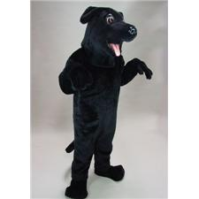 Mask U.S. Black Lab Mascot Costume
