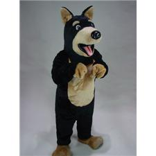 Mask U.S. Doberman Mascot Costume