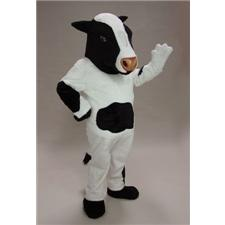 Mask U.S. Cow Mascot Costume