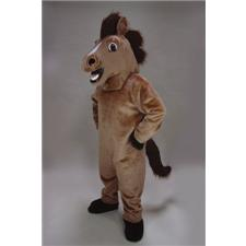 Mask U.S. Friendly Horse Mascot Costume