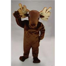 Mask U.S. Moose Mascot Costume