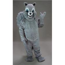 Mask U.S. Grey Squirrel Mascot Costume