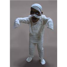 Mask U.S. Mummy Mascot Costume