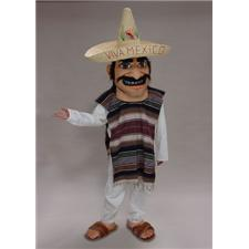 Mask U.S. Mexican Mascot Costume