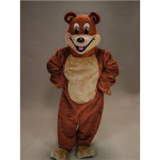 Mask U.S. Cartoon Bear Mascot Costume