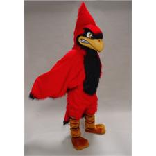 Mask U.S. Fierce Cardinal Mascot Costume