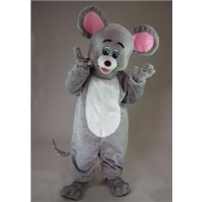 Mask U.S. Grey Mouse Mascot Costume