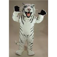Mask U.S. White Tiger Mascot Costume