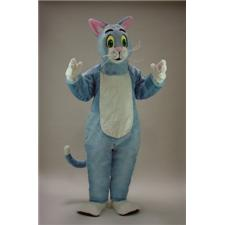 Mask U.S. Blue Cat Mascot Costume