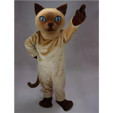 Mask U.S. Siamese Cat Mascot Costume