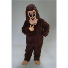 Mask U.S. Brown Gorilla Mascot Costume