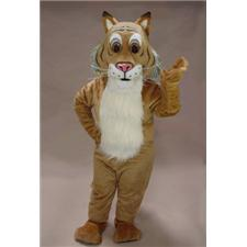 Mask U.S. Friendly Bobcat Mascot Costume