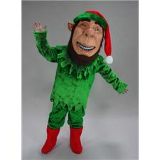 Mask U.S. Elf Mascot Costume