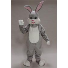 Mask U.S. Grey Rabbit Mascot Costume
