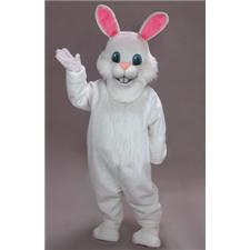 Mask U.S. White Rabbit Mascot Costume