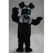 Mask U.S. Black Terrier Mascot Costume