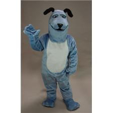 Mask U.S. Blue Pup Mascot Costume
