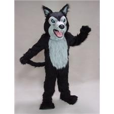 Mask U.S. Fierce Wolf Mascot Costume