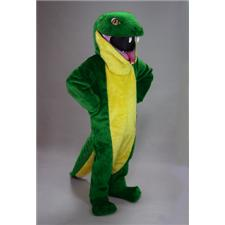 Mask U.S. Green Snake Mascot Costume
