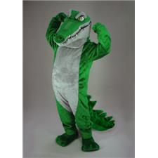 Mask U.S. Crocodile Mascot Costume