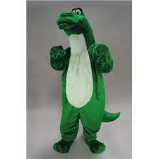 Mask U.S. Cartoon Dino Mascot Costume