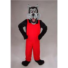 Mask U.S. Big Bad Wolf Mascot Costume