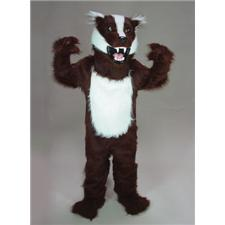 Mask U.S. Badger Mascot Costume