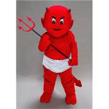 Mask U.S. Lil Devil Mascot Costume