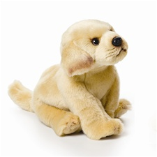 "9.5"" Nat & Jules Yellow Lab Dog"