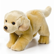 "11.5"" Nat & Jules Yellow Lab Dog"
