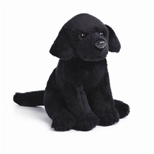 "5.5"" Nat & Jules Black Lab Dog"