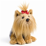 "5.5"" Nat & Jules Yorkshire Terrier Dog"