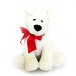 Scruffy the dog 10'' white