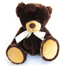 "Blakely the Bear - Chocolate 9"" Teddy Bear by Beverly Hills Teddy Bear"
