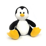 "Pixley the Penguin- 8"" Penguin by Beverly Hills Teddy Bear"