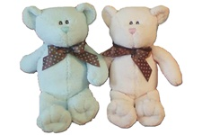 "Beverly Hills Teddy Bear 12"" Baby Bella Bear, Pink"