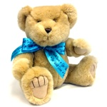 "Medium Blue Get Well Soon Bow - Recommended for Animals 11"" to 24"" Long-BEAR NOT INCLUDED"