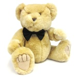 "Medium Black Bow Tie - Recommended for Animals 11"" to 24"" Long-BEAR NOT INCLUDED"