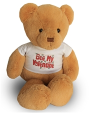 "20"" Teddy Bear Bee My Valentine T-Shirt"