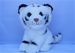 "Beverly Hills Teddy Bear 8"" Tiger - Safari Friends"