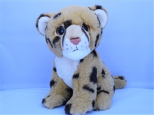"Beverly Hills Teddy Bear 8"" Cheetah - Safari Friends"