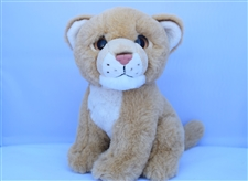"Beverly Hills Teddy Bear 8"" Lioness - Safari Friends"