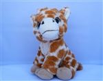 "Beverly Hills Teddy Bear 8"" Giraffe - Safari Friends"