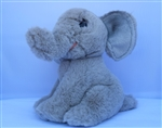 "Beverly Hills Teddy Bear 8"" Elephant - Safari Friends"