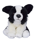 "Beverly Hills Teddy Bear 10"" Puppy Pals - Zoe the Border Collie Dog"