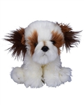 "Beverly Hills Teddy Bear 10"" Puppy Pals - Oliver the Shih Tzu Dog"