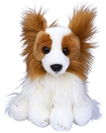"Beverly Hills Teddy Bear 10"" Puppy Pals - Roxy the Papillion Dog"